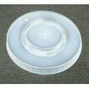 Couvercle plastique pour gobelet carton 30/33 cl