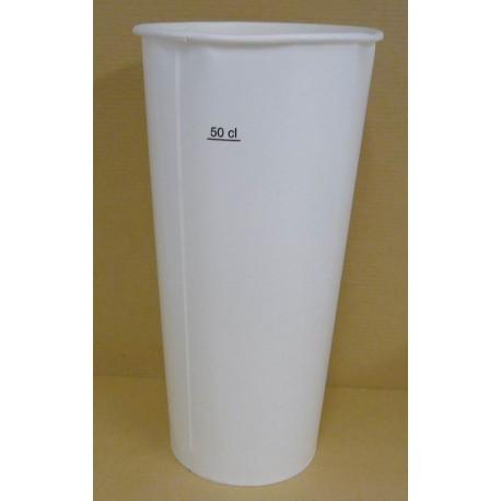 Gobelet carton 50/60 cl