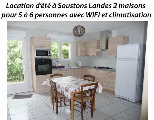 Location d'été dans les Landes Soustons